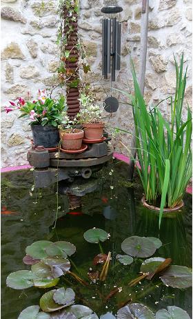 le carillon du patio de Pondaurat