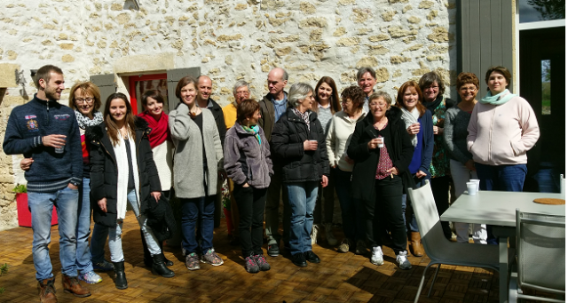 "Stage ""Ouvrir nos perceptions extrasensorielles""  Bordeaux, Mars 2016"