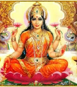 Laksmi, déesse de l'abondance