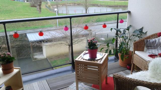 """Une belle terrasse de printemps qui active le secteur de la zone """" Amour """""""