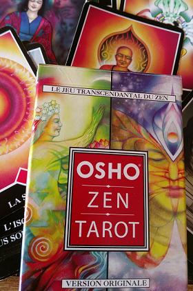 Le Zen Tarot d'Osho, un outil puissant pour travailler sur soi.