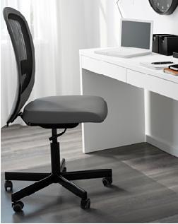 Votre siège de bureau peut vous emmener une grosse fatigue.