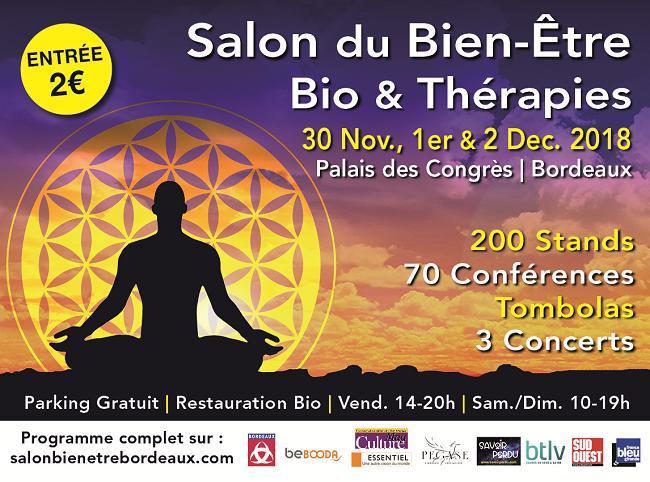 Venez retrouver le Feng Shui au Salon du Bien-être ce week-end à Bordeaux lac.