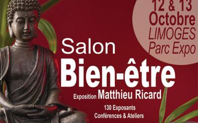 Venez nombreux au salon Bien-être de Limoges les 12 et 13 Octobre